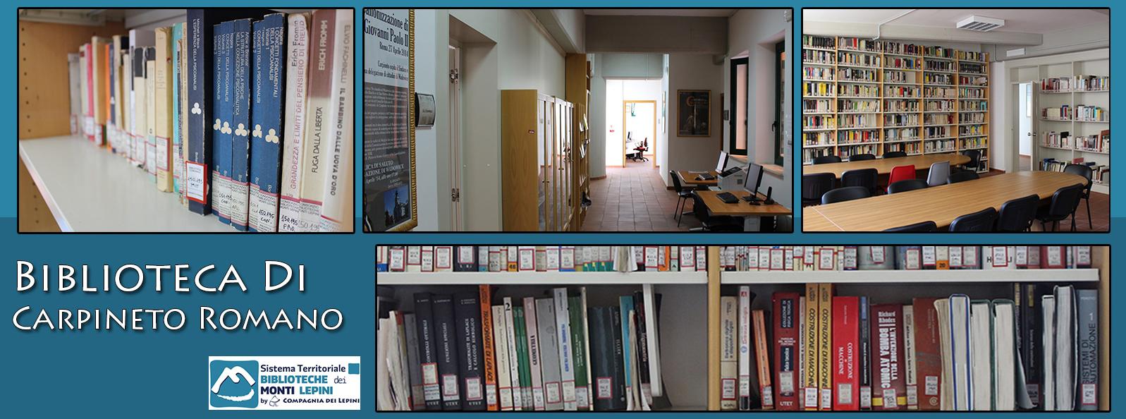 Carpineto Romano - Biblioteca Comunale