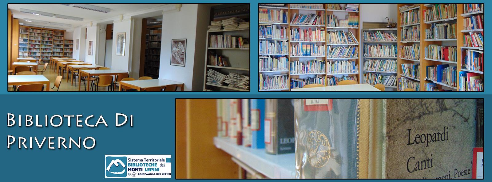 Priverno - Lt - Biblioteca Comunale